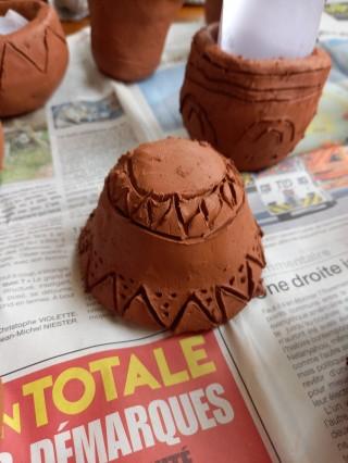 Atelier découverte de la poterie au Néolithique
